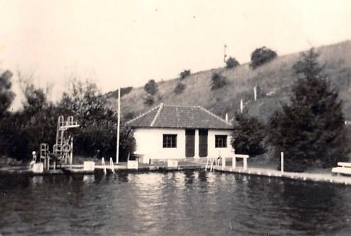SV Vereinsheim am alten großen 50m Becken