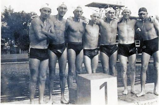 Wasserball Team des SV Stadtoldendorf